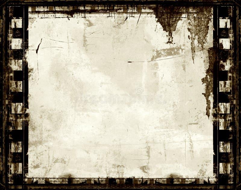 Blocco per grafici di pellicola di Grunge illustrazione di stock