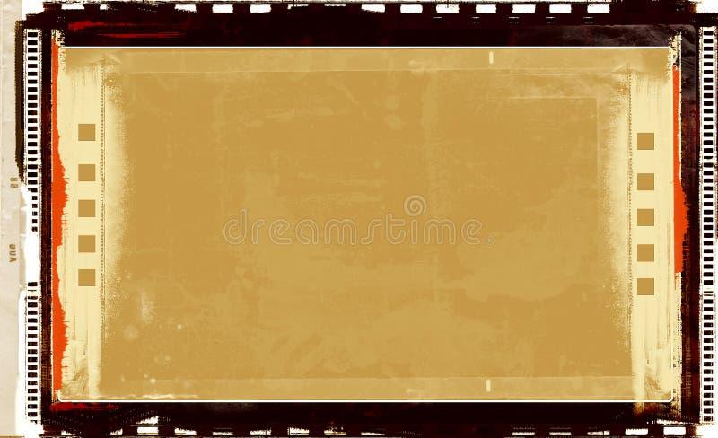 Download Blocco Per Grafici Di Pellicola Di Grunge Illustrazione di Stock - Illustrazione di brown, illustrazione: 3137739