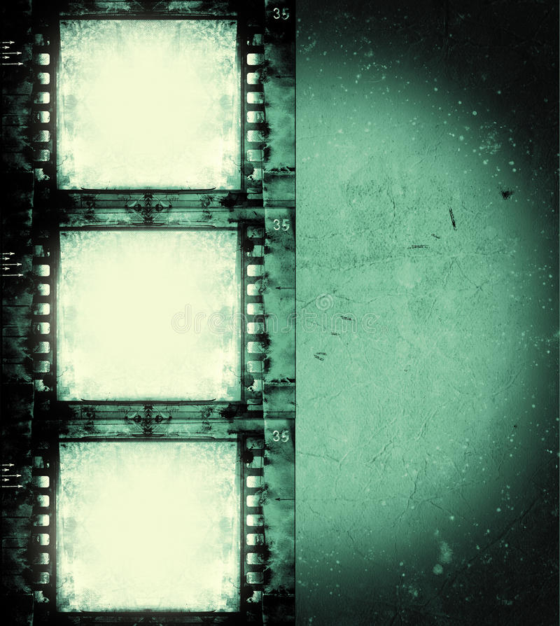 Blocco per grafici di pellicola di Grunge illustrazione vettoriale
