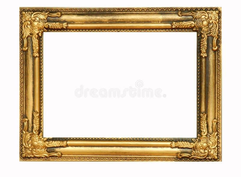 Blocco per grafici dorato #4 fotografia stock