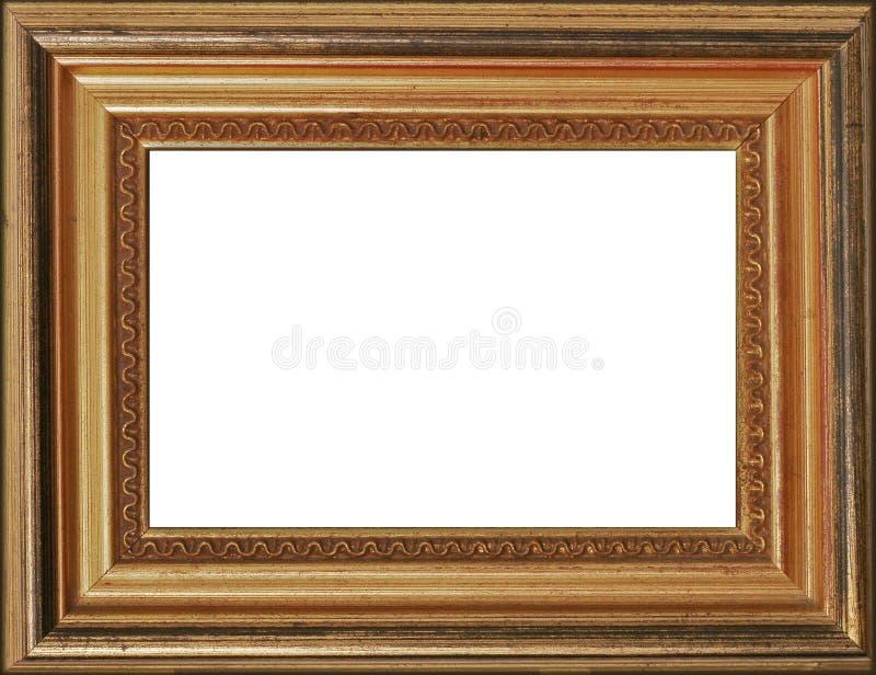 Blocco per grafici dorato della foto fotografia stock libera da diritti