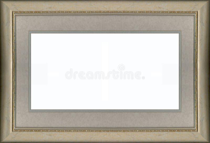 Blocco per grafici e stuoia dell'oro fotografie stock