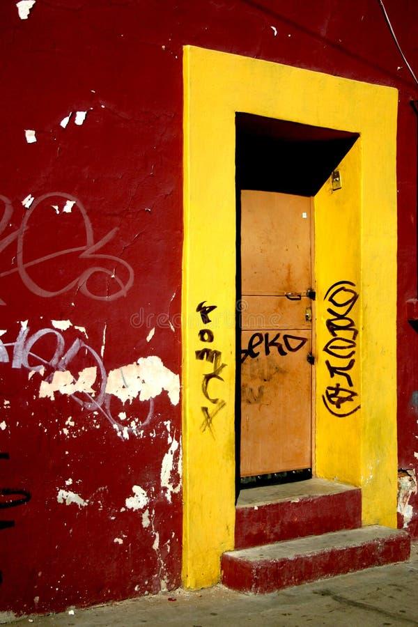 Blocco per grafici giallo fotografie stock