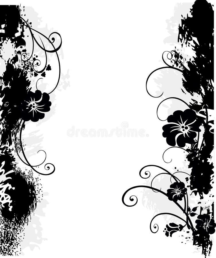 Blocco per grafici Grungy illustrazione vettoriale