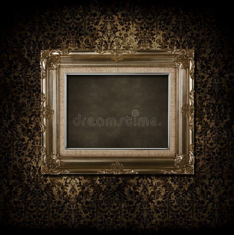 Blocco per grafici Grungy del victorian immagini stock