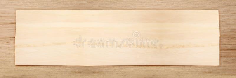 Blocco per grafici largo di legno fotografia stock libera da diritti