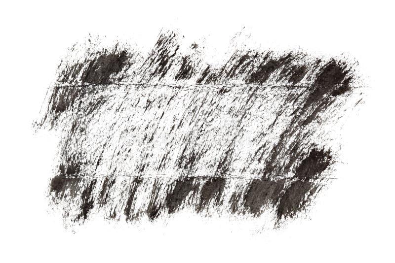Blocco per grafici nero del grunge illustrazione vettoriale