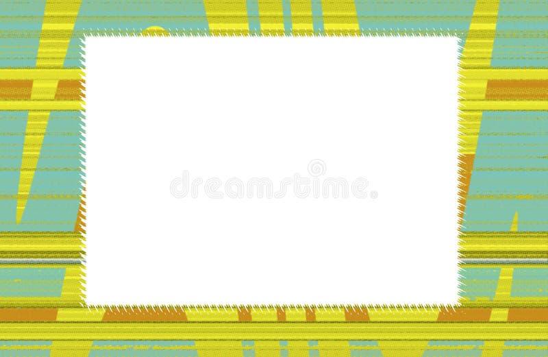 Blocco per grafici o bordo decorativo illustrazione vettoriale