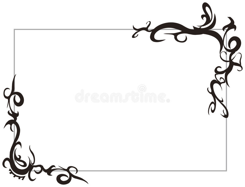 Blocco per grafici tribale royalty illustrazione gratis