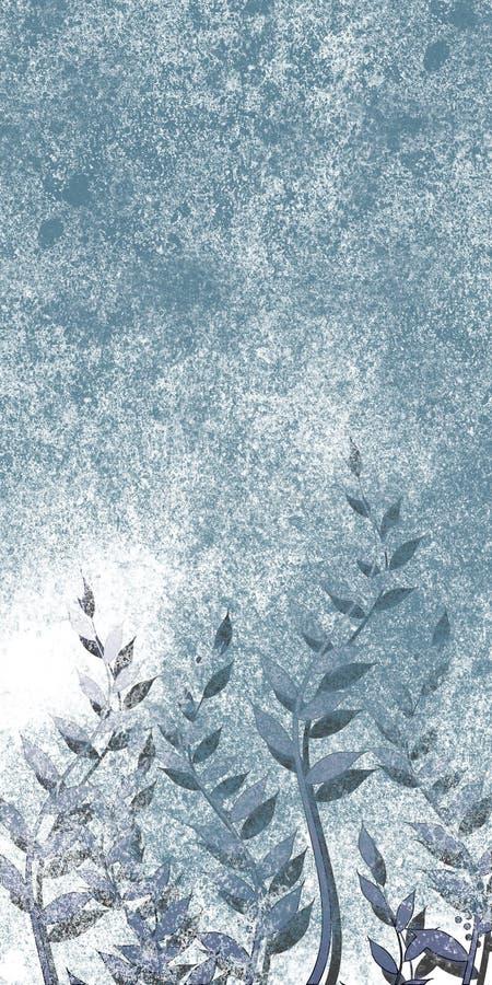Blocco per grafici variopinto di Grunge con lo spazio di colore più chiaro illustrazione vettoriale