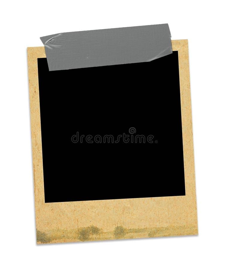Blocco per grafici vecchio della foto fotografia stock