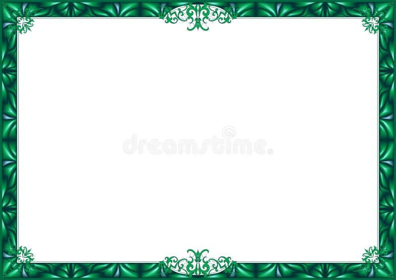 Blocco per grafici verde. royalty illustrazione gratis