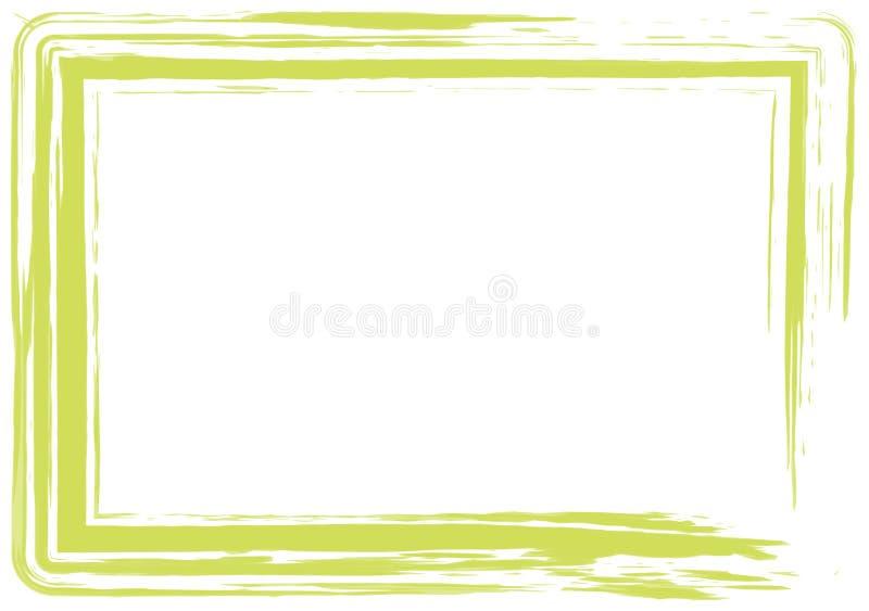 Blocco per grafici verde chiaro del grunge royalty illustrazione gratis