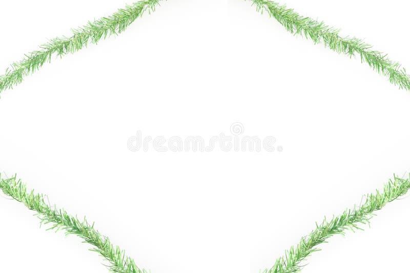Blocco per grafici verde della canutiglia illustrazione vettoriale
