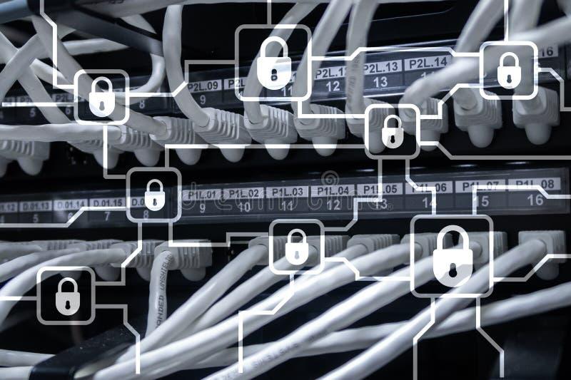 Blochain信息加密 网络安全,隐藏货币 库存照片