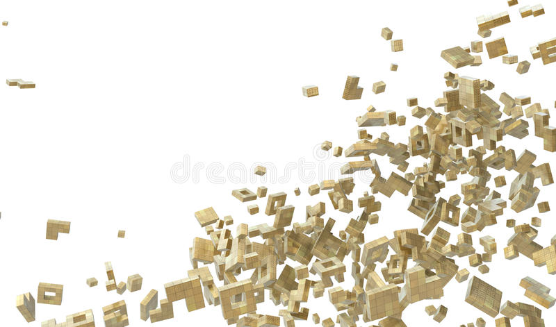 Block Abstract Royalty Free Stock Images