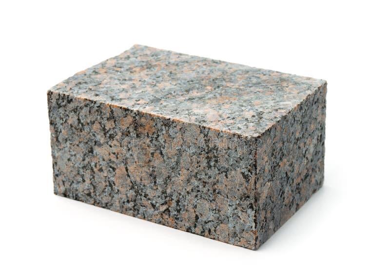 Block des natürlichen unpolierten Granits lizenzfreie stockfotos