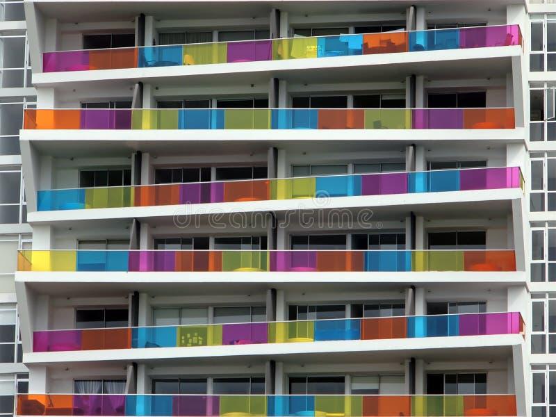 Block of flats stock image