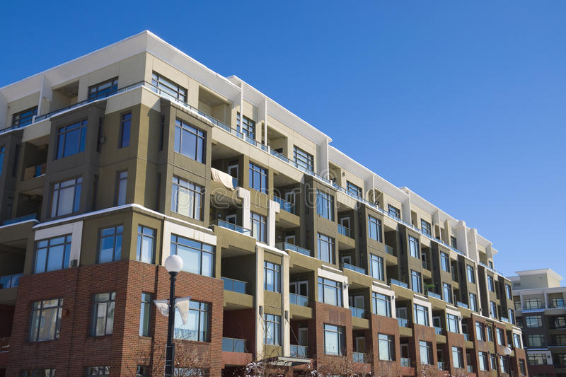 Block of flats - Apartment Building royalty free stock photography