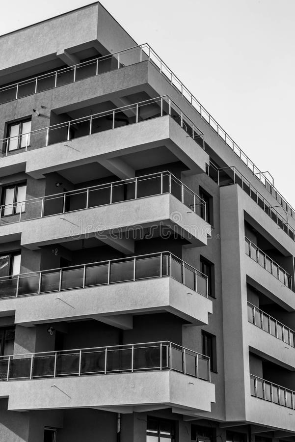 Download Apartment building stock photo. Image of residence, flats - 102337940