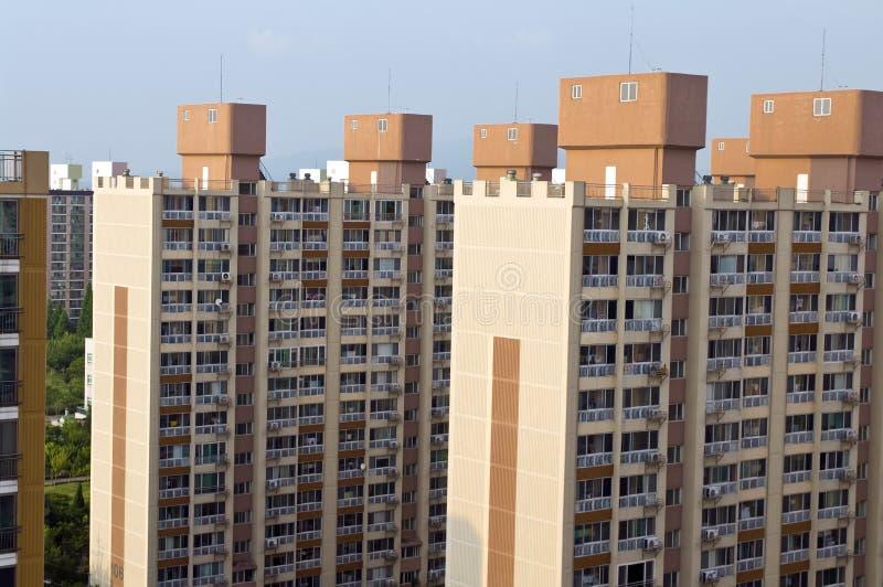Block of flats in South Korea