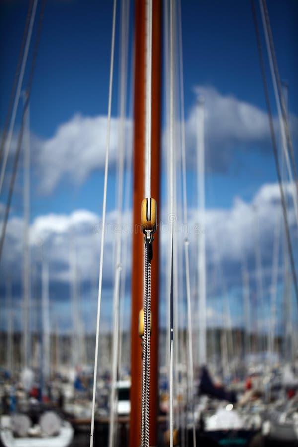 Block från seglingshipen royaltyfria bilder