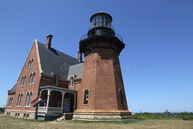 Block Island Southeast Light stock photo