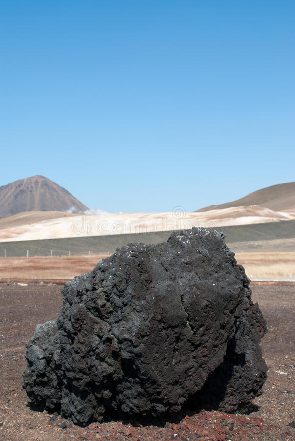 Download Block lava in Iceland stock photo. Image of environment - 20684726