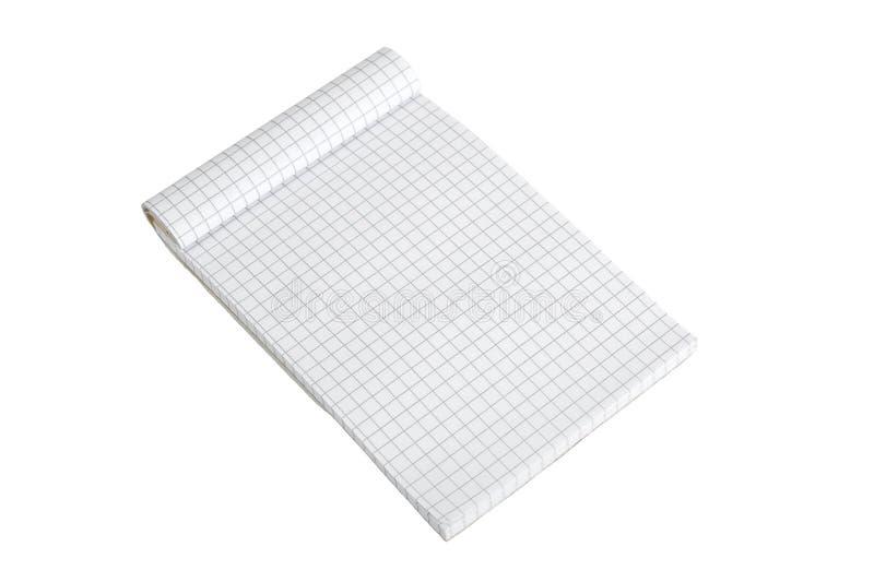 Block Notes. Isolated on white stock photo