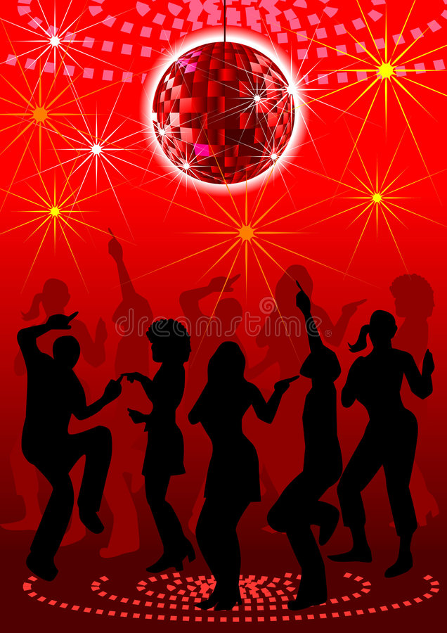 Download Block party. stock vector. Image of lifestyle, motion - 6060710