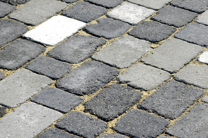 Download Block paving stock photo. Image of white, paving, construction - 178268