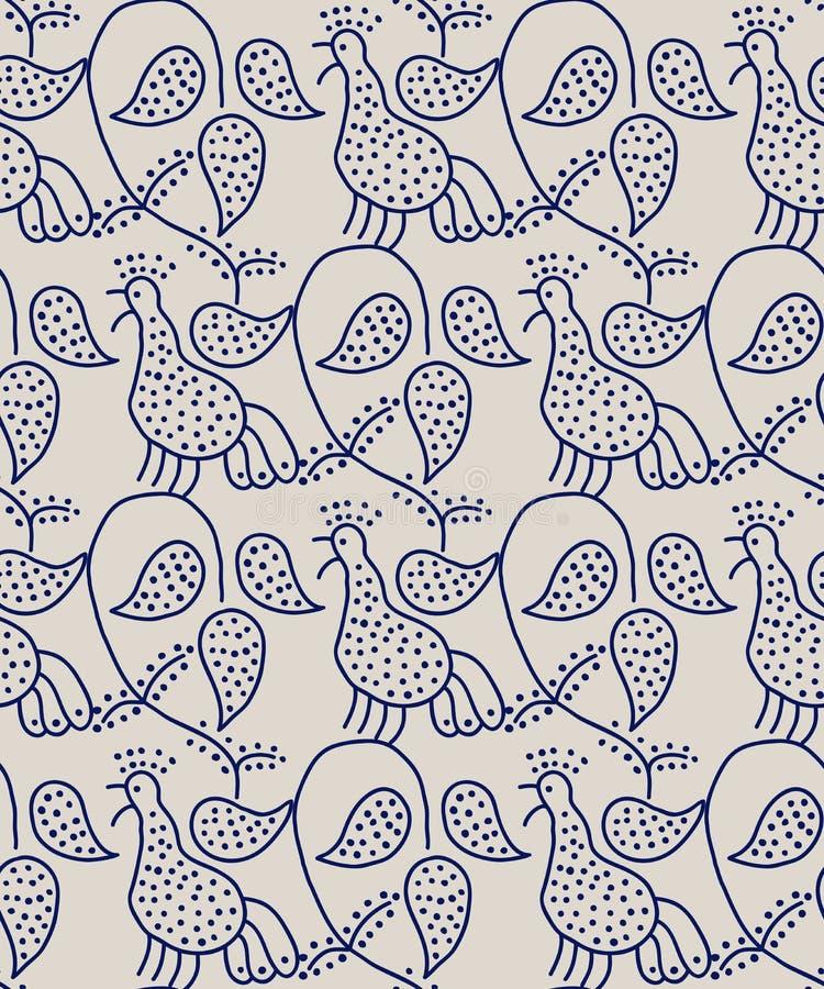 block print background stock vector illustration of doodle 96042551