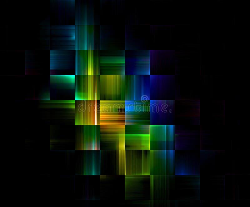 block som bygger heltäckande vektor illustrationer