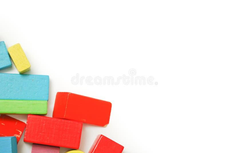 Block spielt Kinderspiel stockbilder