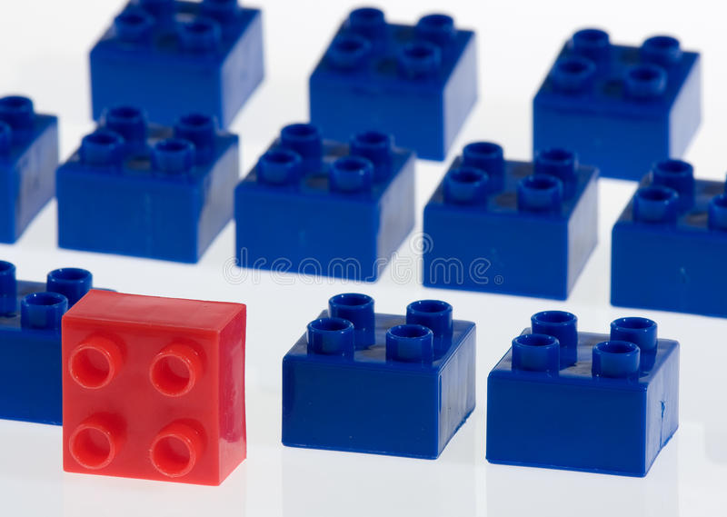 Block Uniqueness royalty free stock image