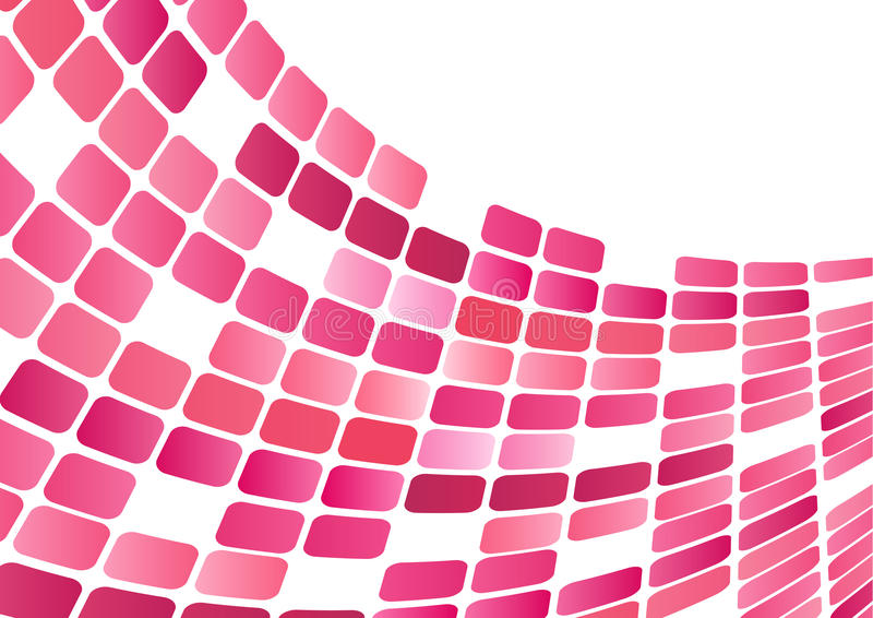 Download Block wavy Background stock illustration. Image of cubes - 10273369