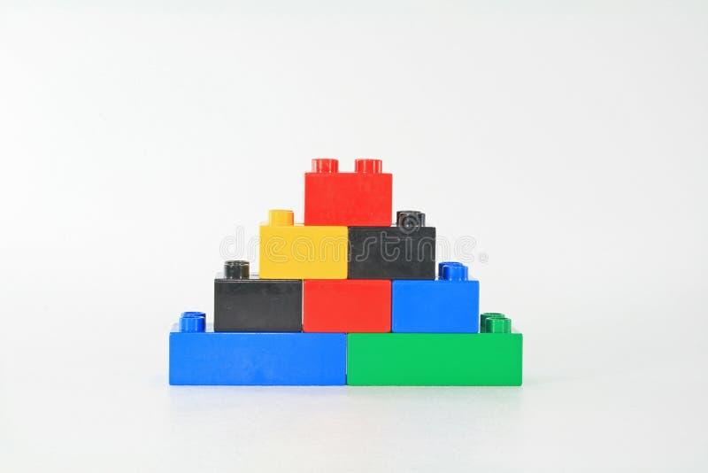 blockbyggande royaltyfri fotografi