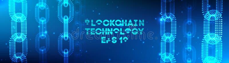 Blockchain技术背景 Cryptocurrency fintech块式链网络和编程的概念 抽象Segwit 皇族释放例证