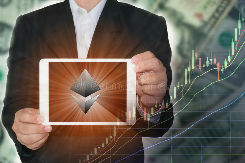 Blockchain-Konzept lizenzfreies stockbild