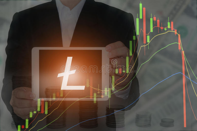 Blockchain-Konzept stockfotos