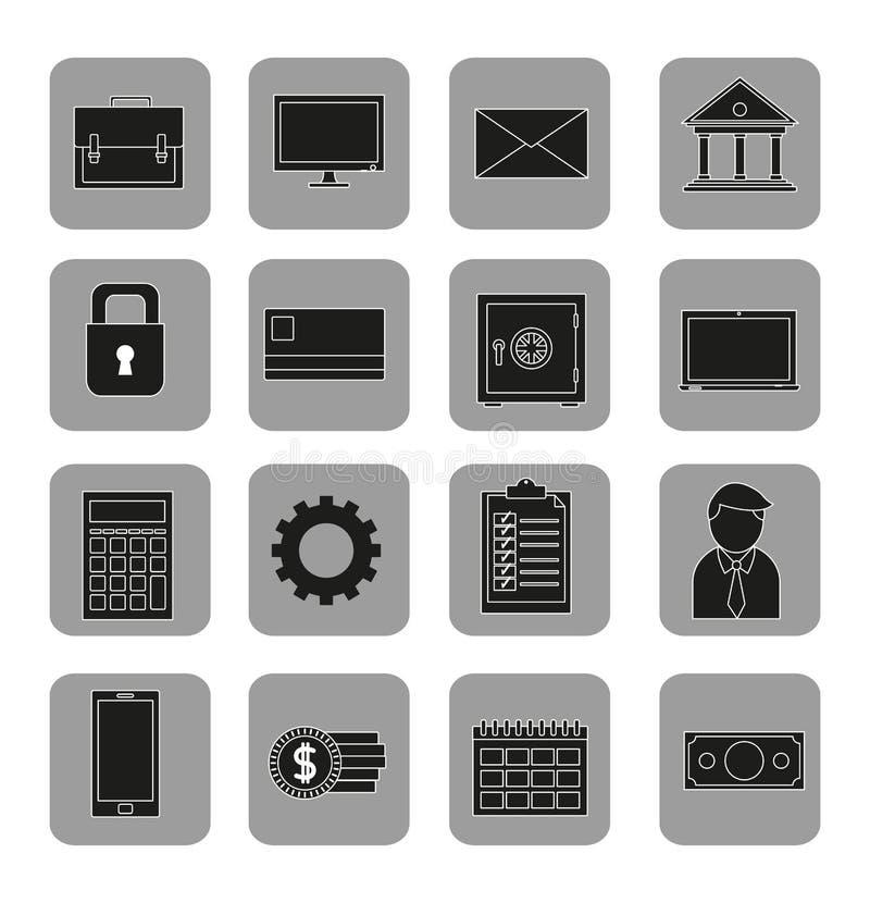 Blockchain-Konzeptdesign stock abbildung