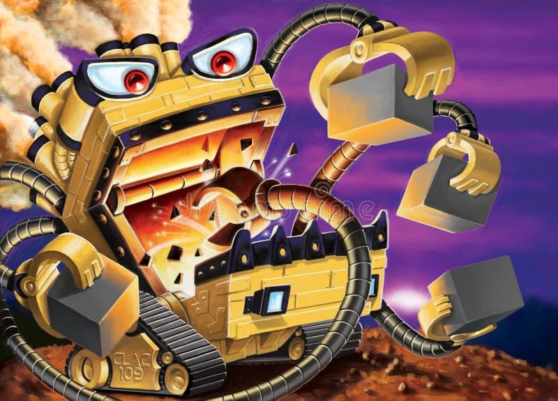 Blockeater stock illustration