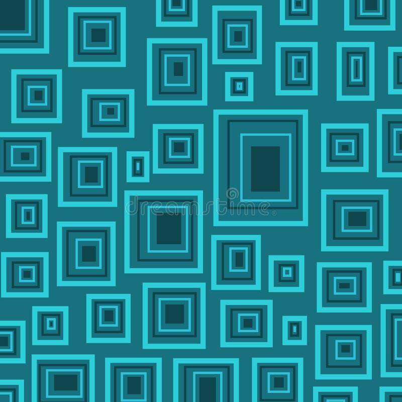 blockerar bluen royaltyfri illustrationer