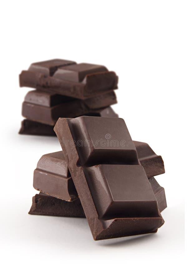 blockerar choklad royaltyfri foto