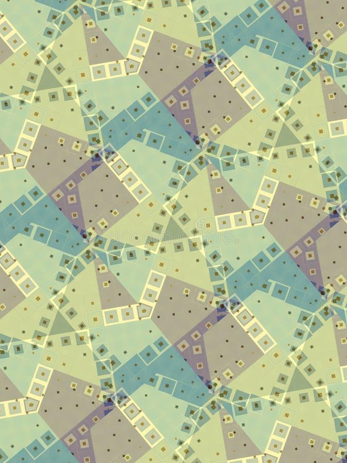 blockerar diagonala ljusa modeller royaltyfri illustrationer