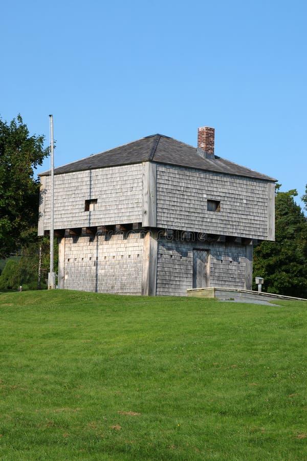 Blockhouse do St Andrews fotos de stock