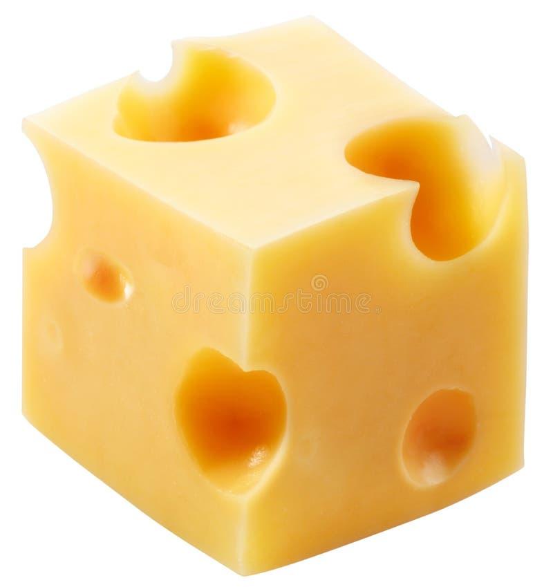 Blockkäse stockbild