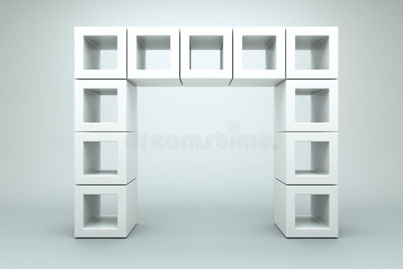 Blocks royalty free illustration