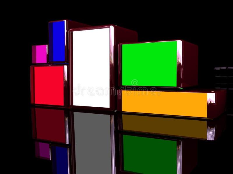 Download Blocks stock illustration. Illustration of board, black - 6880620