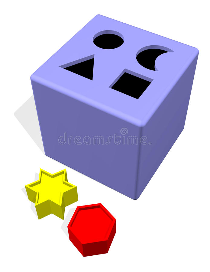 Download Blocks And Holes Toy Stock Photo - Image: 10814640